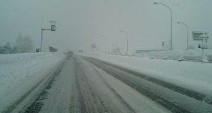降雪による遅延の可能性