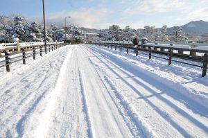 明日から週末まで降雪予報!