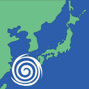 台風接近による配達遅延の可能性